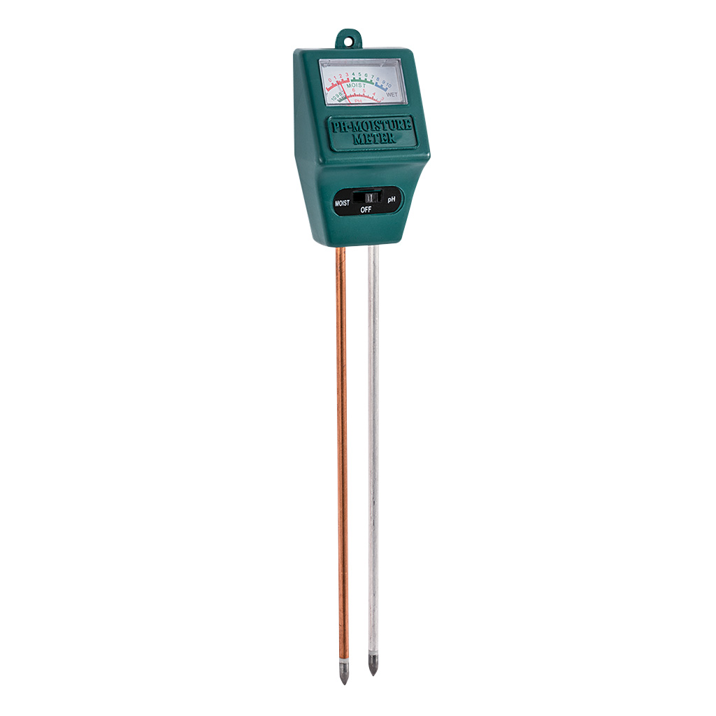Combination pH and Moisture Meter