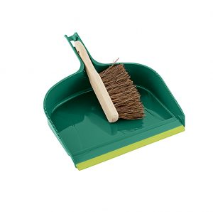 Gardman dust pan and brush