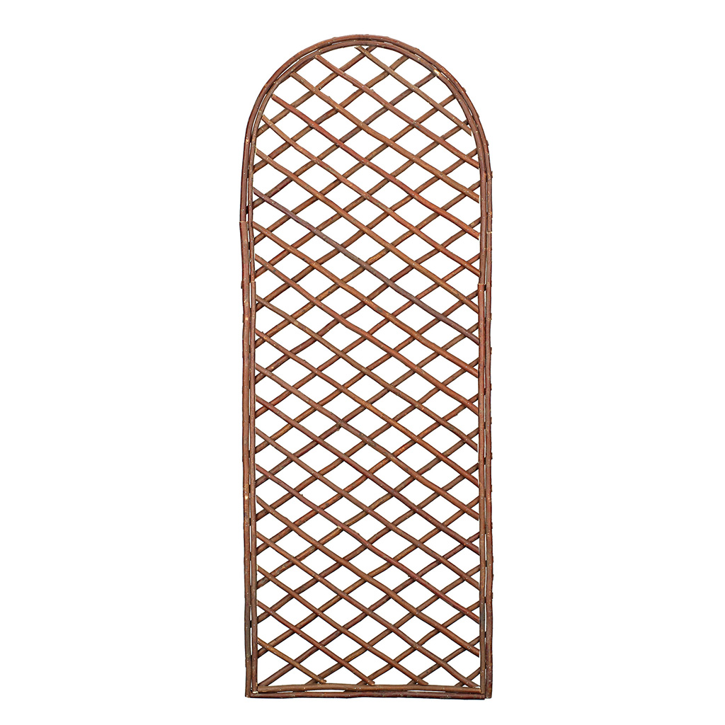 Curved Willow Trellis