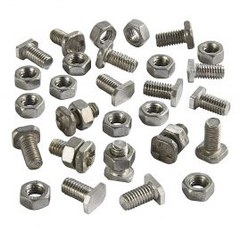 Assorted Greenhouse Nuts and Bolts