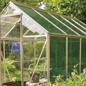 greenhouse shading on a greenhouse