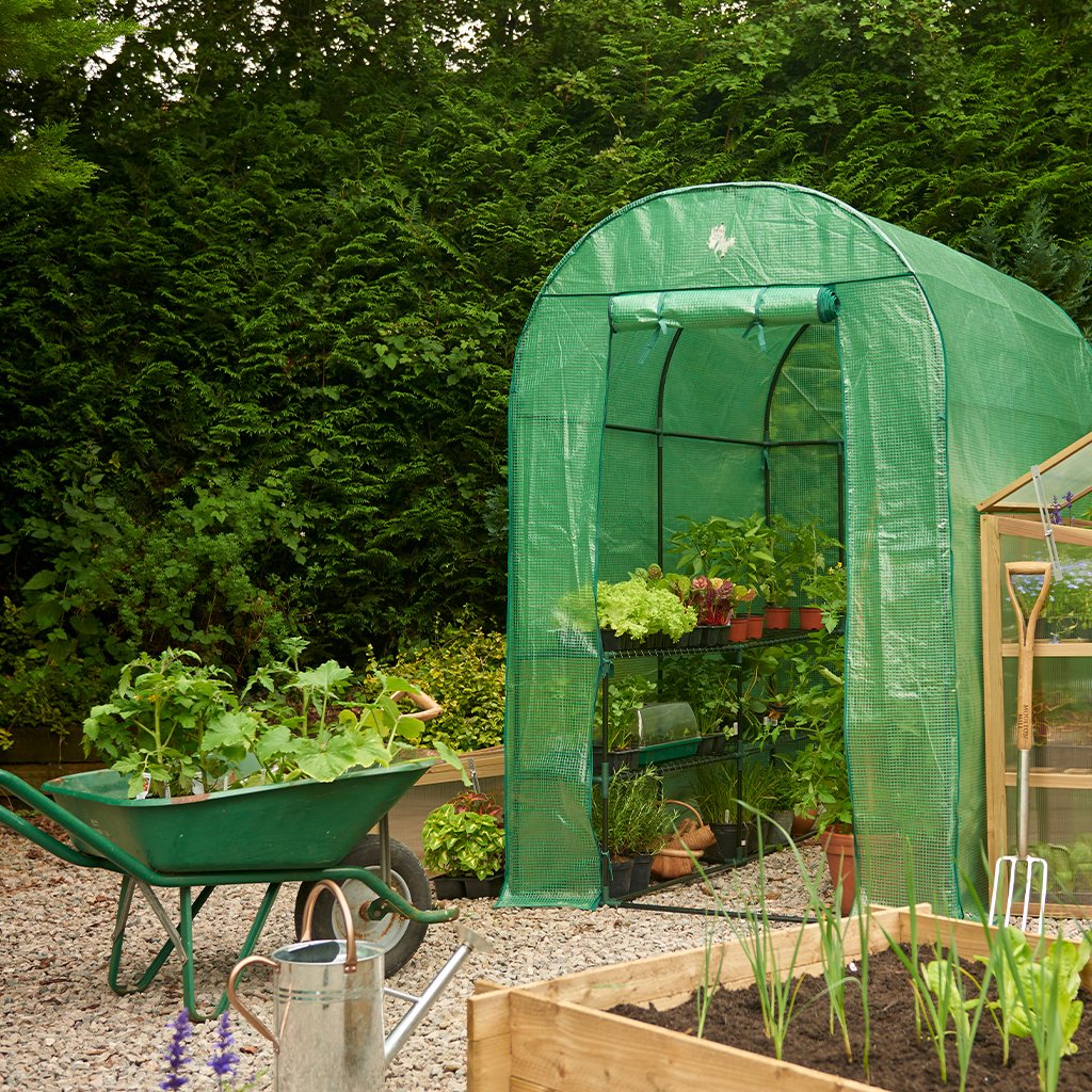 heavy duty walk in growhouse cover