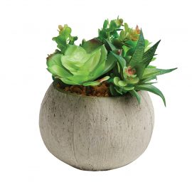Large Artificial Succulent Pot Plant