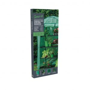 premium 4 tier extra wide grow house in pack