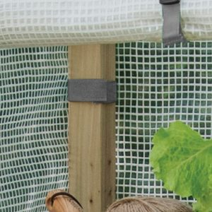 premium 4 tier wooden growhouse ties