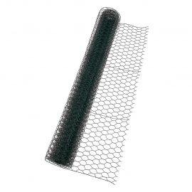 25mm² PVC Coated Wire Netting