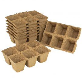 square fibre pot strips