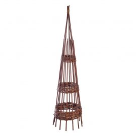 1.5m willow hoop obelisk