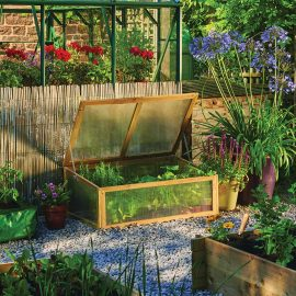 Wooden Cold Frame Natural
