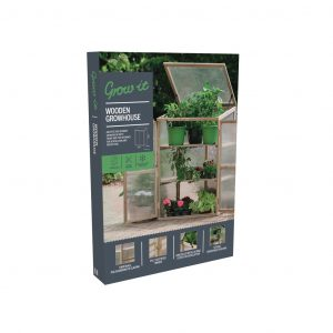 wooden growhouse in pack