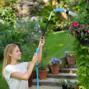 flopro activ watering lance watering hanging baskets