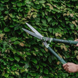 Gardeners Mate Hedge Shears in use