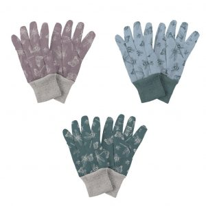 Jersey Cotton Gloves Triple Pack