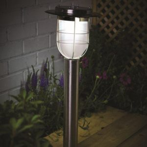solar elton post light 360° Motion Sensor Technology