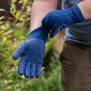 thermal lined ultimate all round blue gardening gloves