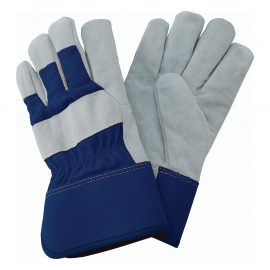 Navy Fleece Lined Rigger Gloves