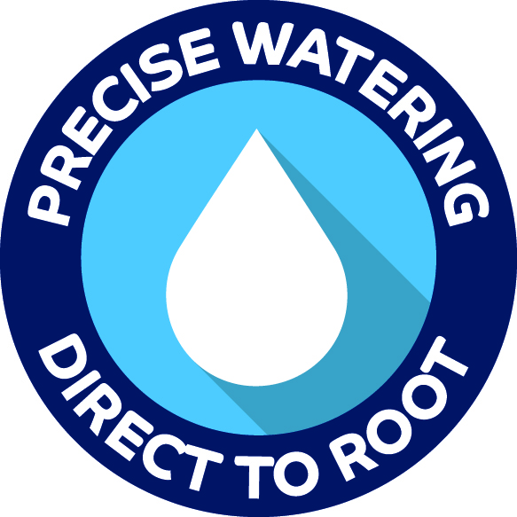 precise watering direct to root icon