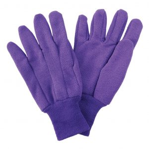 Purple Cotton Gloves