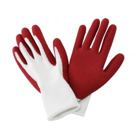 Rumba Red Natural Bamboo Gloves