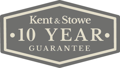 Kent & Stowe 10 year guarantee stamp