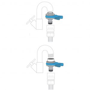 Flopro Threaded Mixer Tap Connector