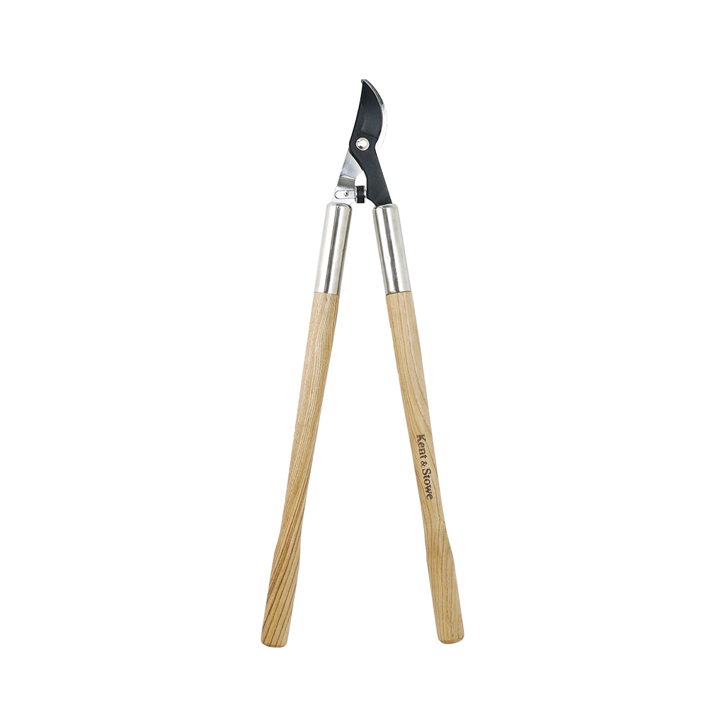 Kent & Stowe Wooden Handled Bypass Loppers Out of pack