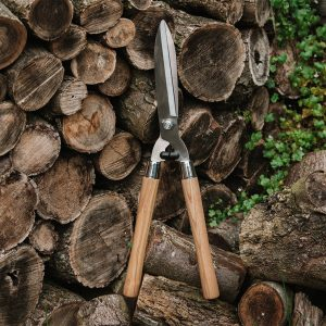 kent & stowe Wooden Handled Hedge Shears lifestyle