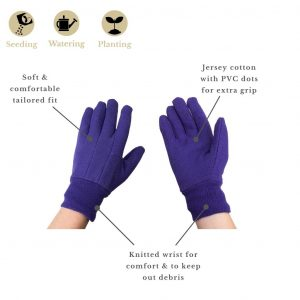 jersey cotton grip purple