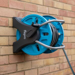 flopro easy hose reel on wall