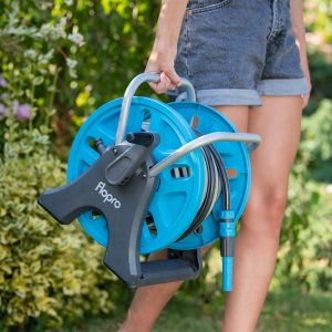 flopro easy hose reel being carried