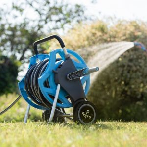 flopro hose and cart 30m in use
