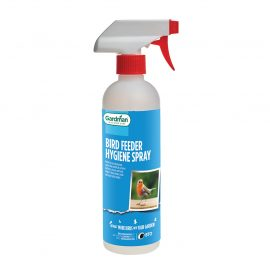 wild bird feeder hygiene spray in pack