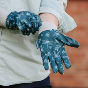 Jersey Cotton Gloves Triple Pack teal