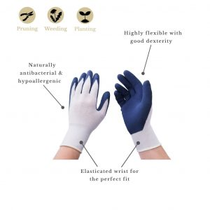bamboo glove features