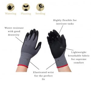 seed and weed glove features mens
