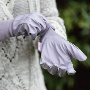 Water Resistant Light Duty Gloves on hands
