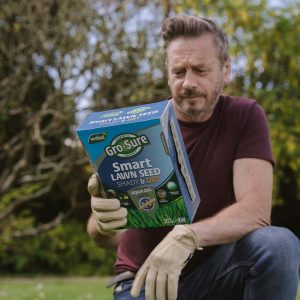 Gro-sure Smart Lawn Seed Shady & Dry Areas reading