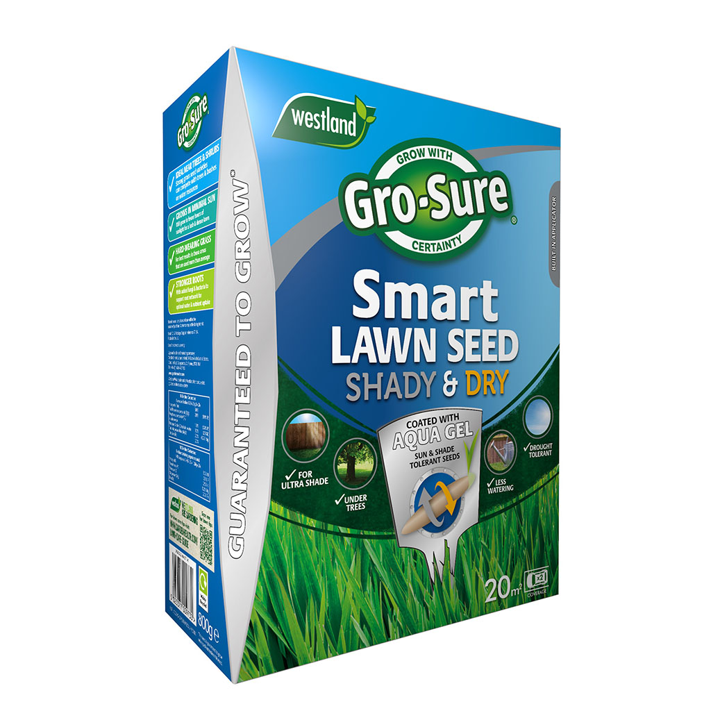 Gro-sure Smart Lawn Seed Tough Shady & Dry Areas