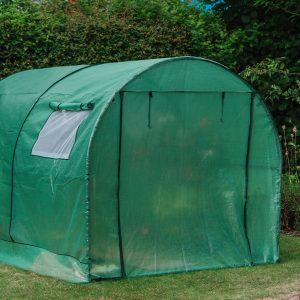 premium poly tunnel cover close up