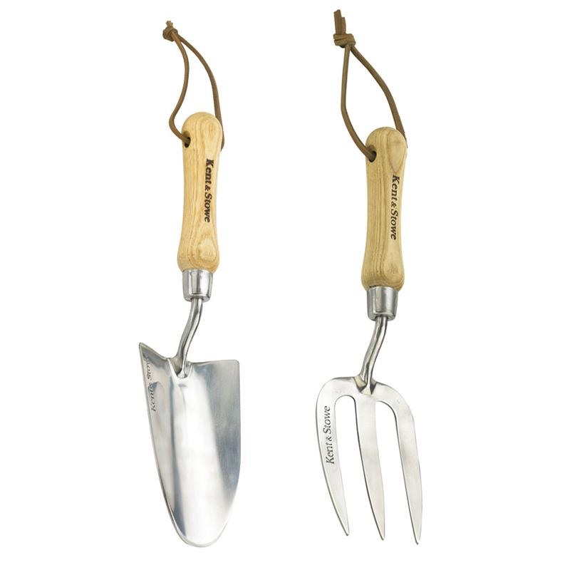 kent & stowe hand trowel and fork