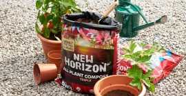 Sustainable gardening with New Horizon