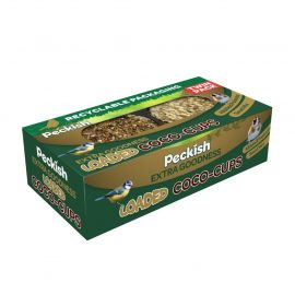 peckish extra goodness coco cups twin pack