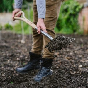 Westland Soil Improver in use